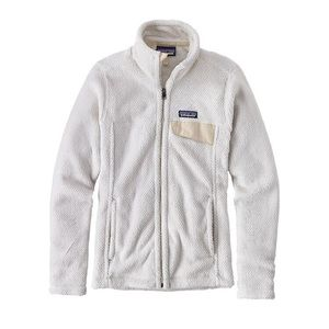 Patagonia Raw Linen Full Zip Re-Tool Fleece Sz S